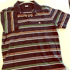 Brooks Brothers Striped Polo XL